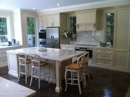 kitchen designs island higher than counter small french country