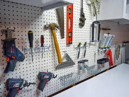 How To Decorate A Large Wall by How To Install A Pegboard How Tos Diy