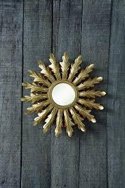 anecdotal aardvark amazon com creative co op metal starburst mirror gold home