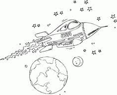 outer space coloring outer space worksheets spaces