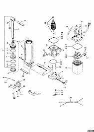 force 120 hp 1996 power trim components design i parts