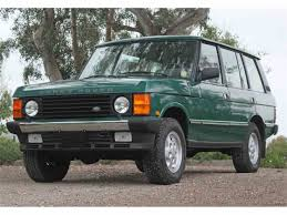 90s land rover for sale 1994 land rover rr for sale classiccars com cc 982181