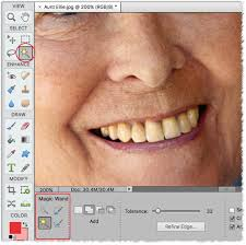 how to whiten teeth in photoshop and elements better photography com