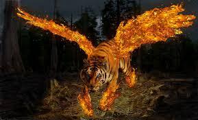 tiger with wings by ureshiirisu on deviantart