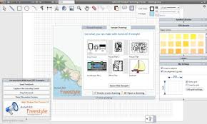 autocad freestyle easy to use low cost drawing software