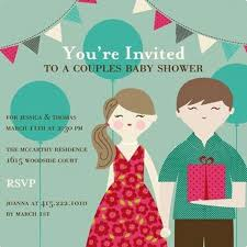 coed baby shower chic coed baby shower invites for your party