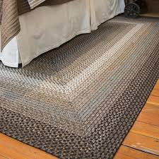 braided rug braided area rugs and coir doormats for country style home decor