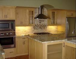 backsplash designs travertine tile black quartz and kitchen on