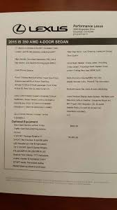 cerritos lexus internet sales price paid for an is250 350 page 175 clublexus lexus forum