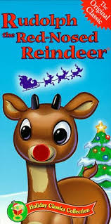 amazon rudolph red nosed reindeer vhs billie mae