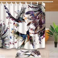Bathroom Rug And Shower Curtain Sets Curtain Bathroom Shower Curtain Sets Shower Curtains For Less