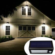 install outdoor garage lights super solar powered motion sensor light super bright no wiring