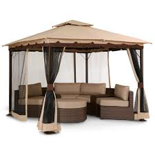 Patio Gazebos by We Need This Gazebo So Bad Omg Patio Bali Gazebo With Screen