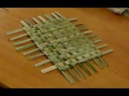abo maxi cuisine 4 4 the abo weaving cattail leaves basic weaving
