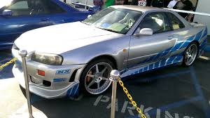 paul walker car collection fast and furious cars paul walker nissan skyline youtube