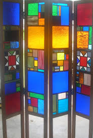 glass room dividers stained glass room divider colored glass by marlina pinterest
