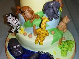 100 baby shower jungle cake safari jungle and monkey diaper