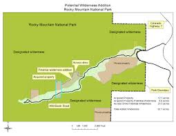 Colorado National Parks Map by Partners Give A Gift Of Wilderness To Rocky Mountain National Park
