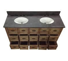 Rustic Bath Vanities Magnificent Double Sink Vanity Top 60 Inch Legion 60 Inch Double