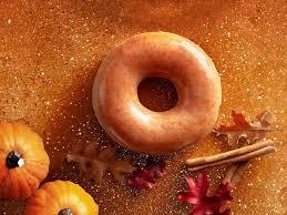 krispy kreme pumpkin spice doughnuts are coming back again already
