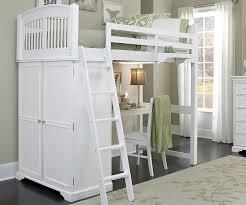 white full size loft bed style white full size loft bed style