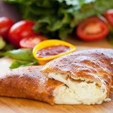 cuisine az com recette calzone aux quatre fromages facile rapide