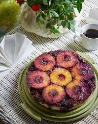 pineapple blackberry upside down cake gather journal