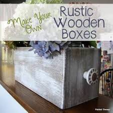 make a wooden box box woodworking and woods