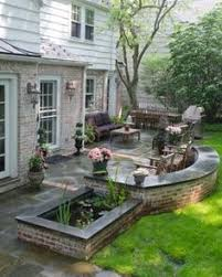 Backyard Patios Ideas 20 Charming Brick Patio Designs Patio Steps Brick Steps And Bricks