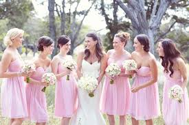 soft pink bridesmaid dresses bridesmaid dresses what should brides care about