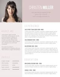 Fancy Resume Templates Word 49 Modern Resume Templates To Get Noticed By Recruiters