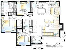 plan maison 3 chambres plain pied plan maison une chambre plan maison plain pied 4 chambres plan