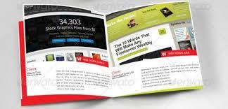 freelance layout majalah 23 desain contoh booklet template premium download
