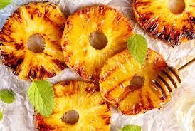 cuisiner avec la plancha ananas caramélisé à la plancha