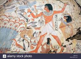 egyptian wall painting of nebamun hunting in the marshes 2 egyptian wall painting of nebamun hunting in the marshes 2 british museum