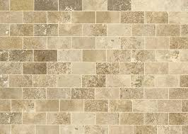 Brown Subway Tile Backsplash by Travertine Subway Tile Roselawnlutheran
