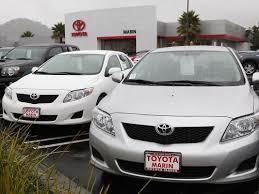 toyota uxs in u s toyota recall will include 2 million cars