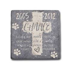 personalized memorial stones personalized pet memorial stones ebay