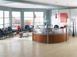 Reception Station Desk Ofm Marque Plexi 5 Unit Reception Station 55316 Office Furniture
