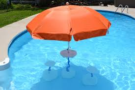 Backyard Creations Umbrella by Swimming Pool Deck Umbrellas Products Llc Swimming Pool Table