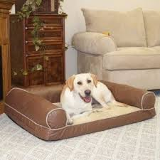 faux leather dog bed foter