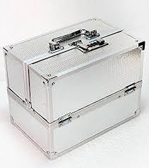 bridal makeup box bsgs wedding bridal silver make up box vanity box in home