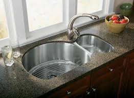 kitchen faucets for granite countertops amazing granite countertop also stainless steel undermount sink