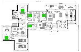 Floor Plan Flat by Attached Granny Flats Stroud Homes
