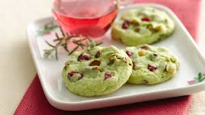 cran pistachio cookies recipe bettycrocker com