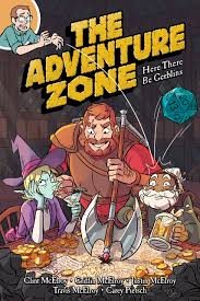 Halloween Graphic Novel by The Adventure Zone Here There Be Gerblins Clint Mcelroy Griffin