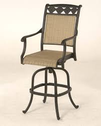 Bar Height Swivel Patio Chairs Amazing Outdoor Bar Height Chairs Regarding Patio Set Table Decor