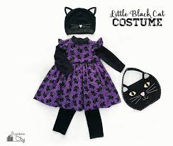 toddler halloween treat bags little black cat toddler costume bugaboocity