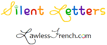 french silent letters