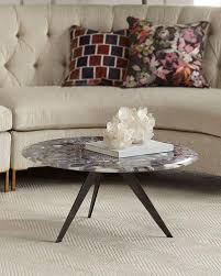 Living Room Accent Table Designer Coffee U0026 Accent Tables At Neiman Marcus